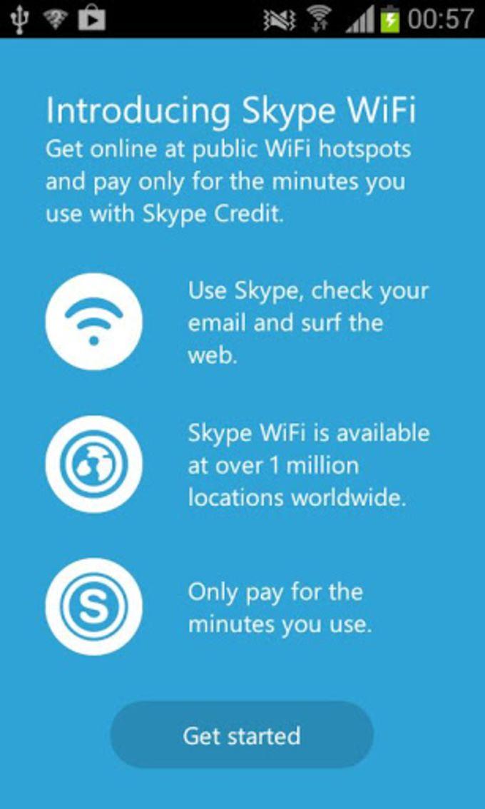 Skype WiFi
