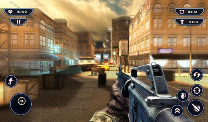 Army AntiTerrorism Sniper Strike  SWAT Shooter