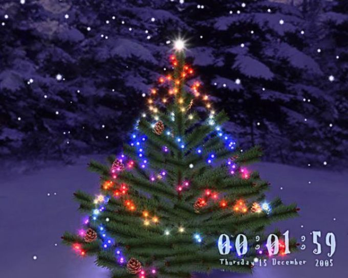 3D Christmas Tree Screensaver
