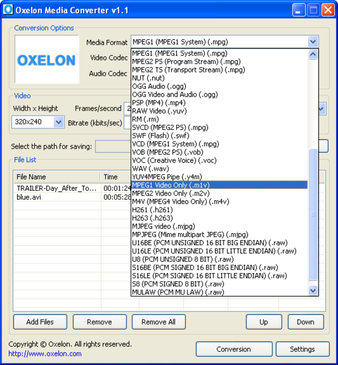 oxelon media converter franais