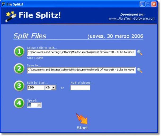 File Splitz!