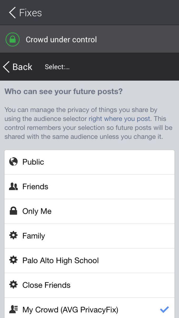 AVG PrivacyFix™