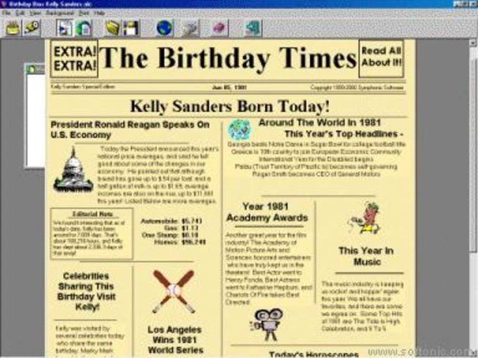 Birthday Bios