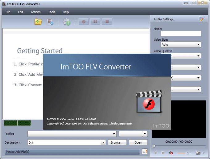 ImTOO FLV Converter