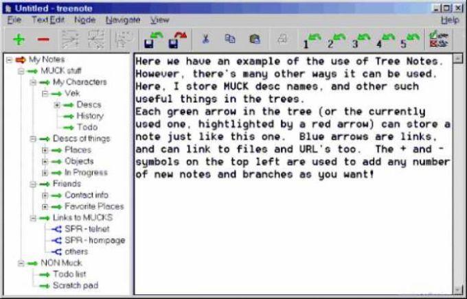 Treenotes