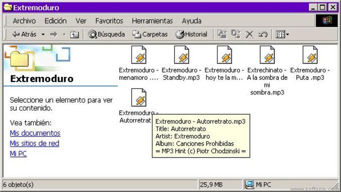 MP3 Hint