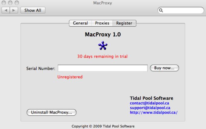 MacProxy