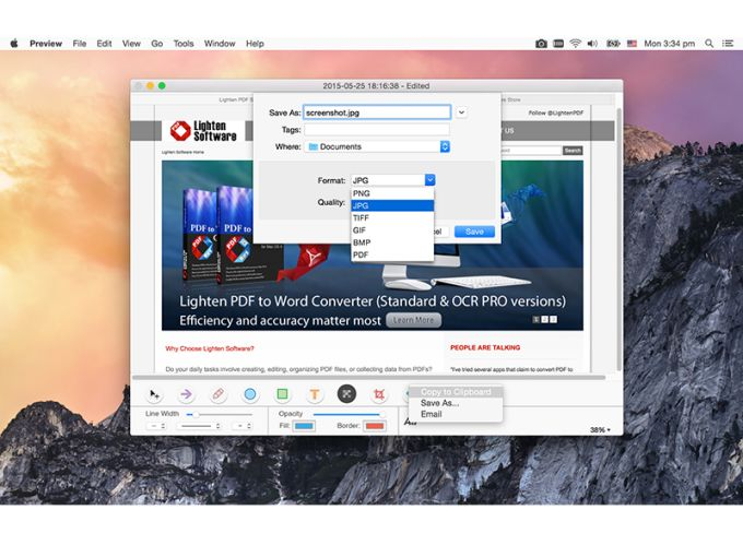 Snapshot Editor for Mac