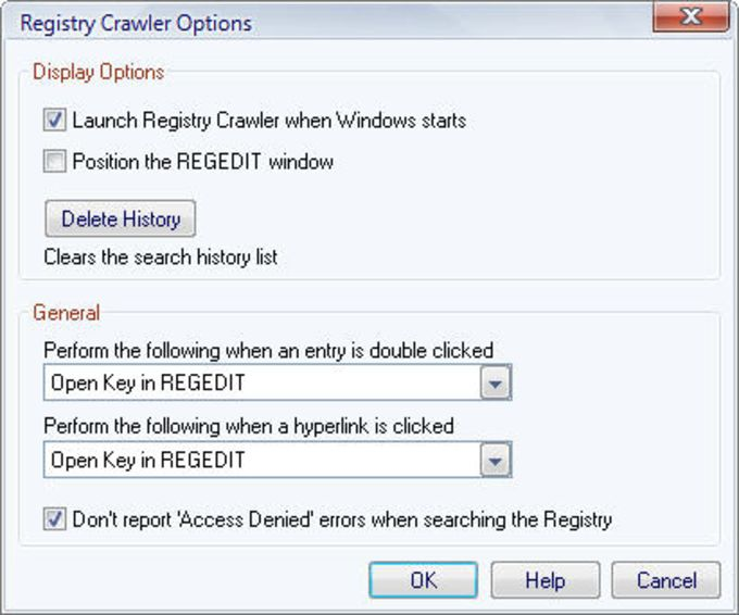 Registry Crawler