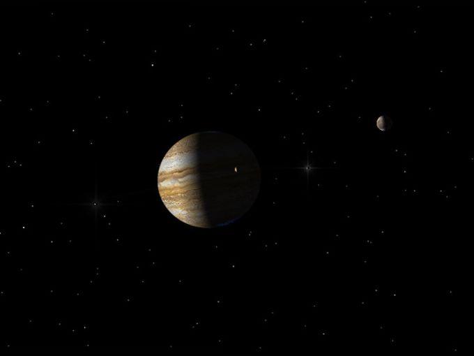 Jupiter 3D Space Tour
