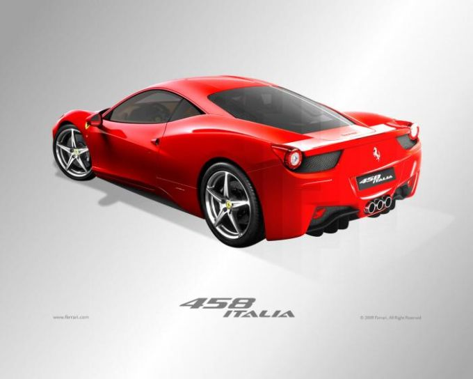 Ferrari 458 Italia Screensaver