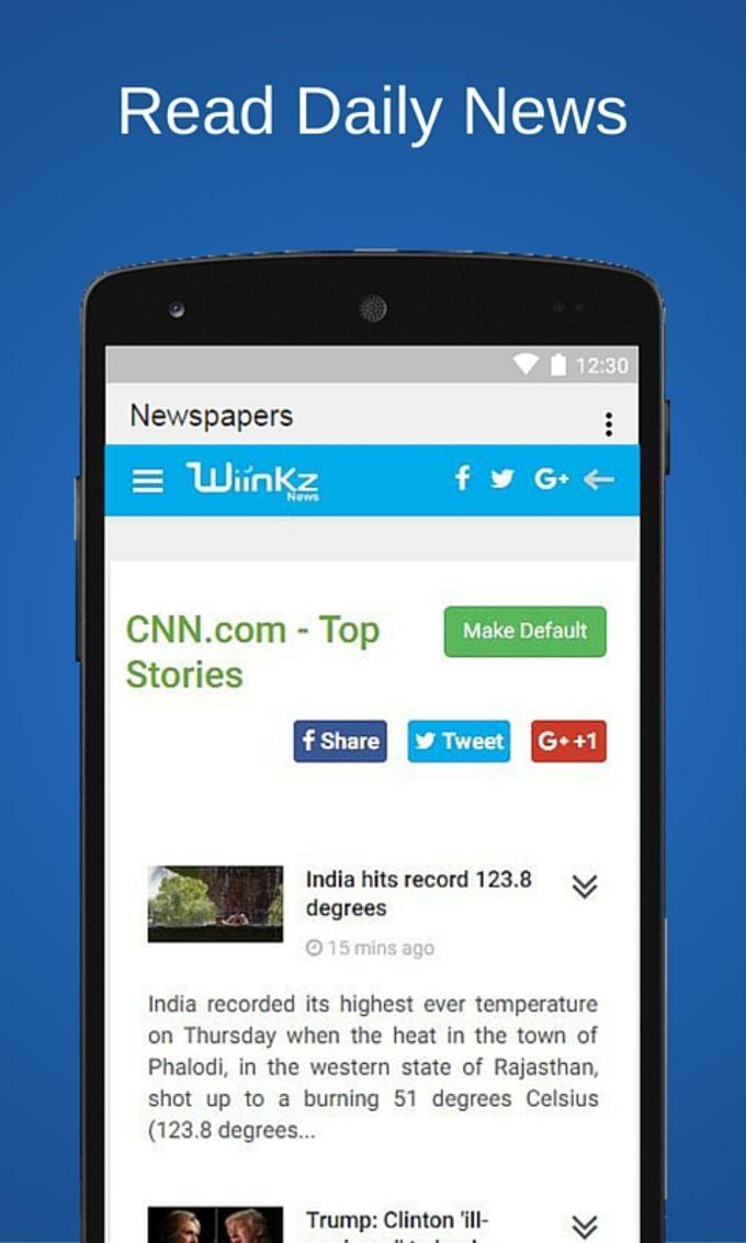 News Wiinkz - World Newspapers