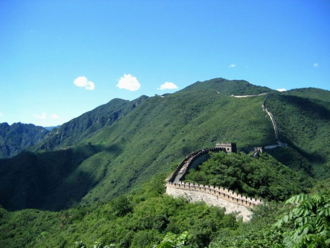 Great wall of China two