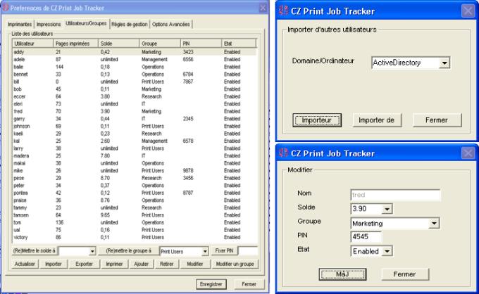 CZ Print Job Tracker