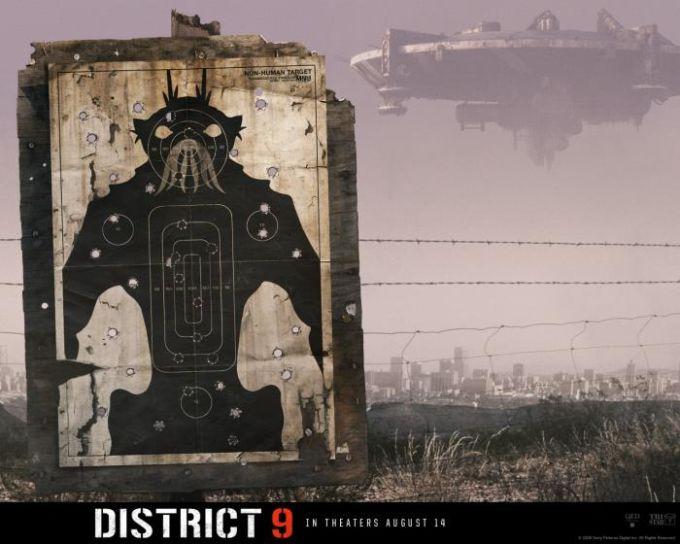 District 9 fond d'écran