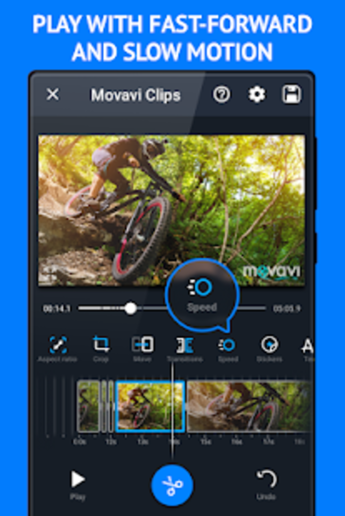 Movavi Clips - Video Editor with Slideshows