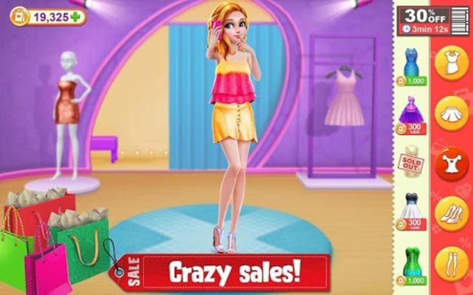 Black Friday Shopping Mania - Fashion Mall Game