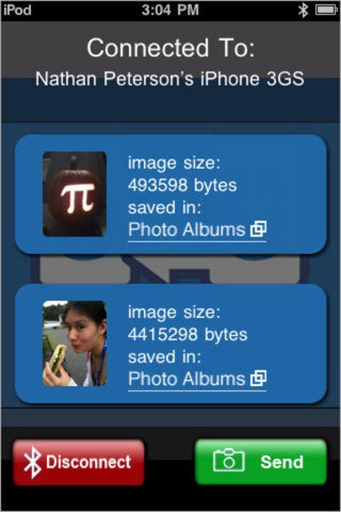 Bluetooth Photo Share