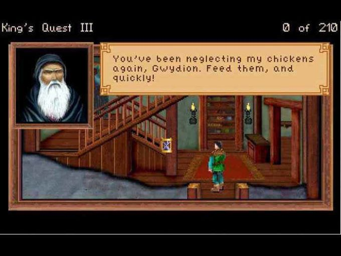 Kings Quest 3 : To Heir is Human