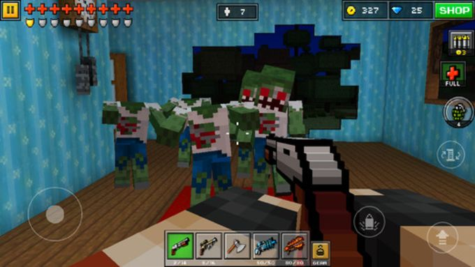 Pixel Gun D Für IPhone Download - Minecraft gun spiele
