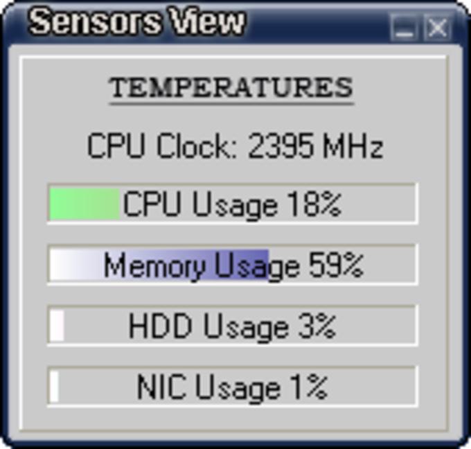 SensorsView
