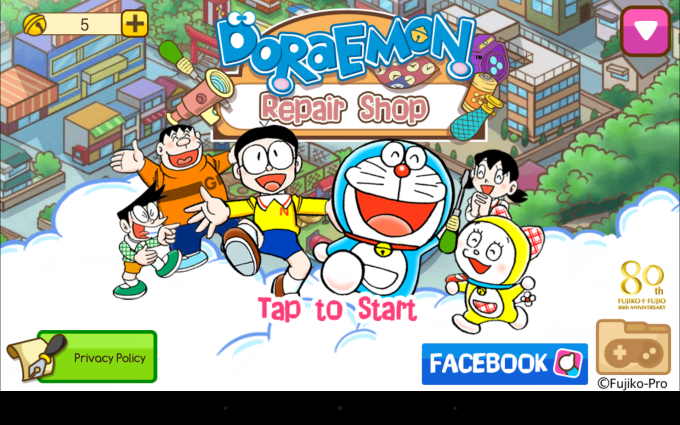 Doraemon Repair Shop
