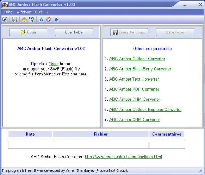 ABC Amber Flash Converter