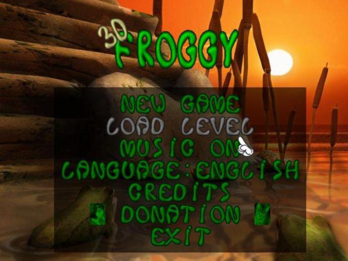 3D Froggy