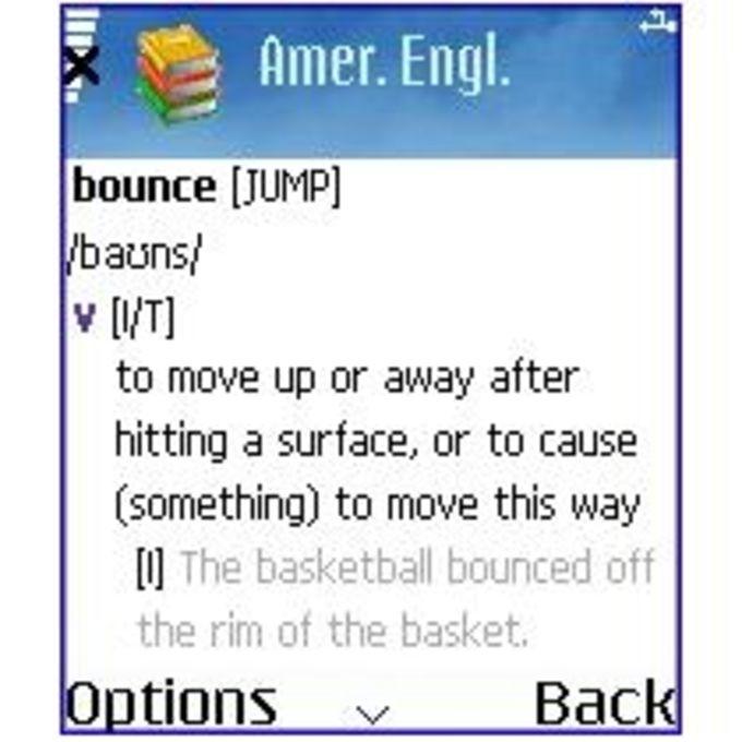 MSDict Cambridge Dictionary of American English
