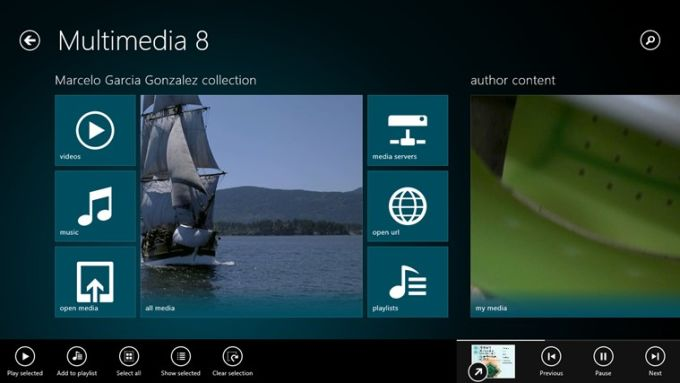 Multimedia 8 para Windows 10