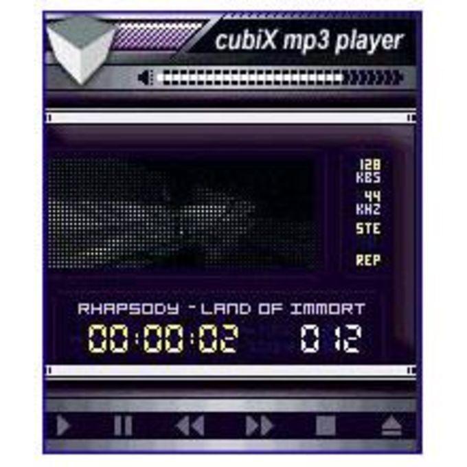 CubiX MP3 Player