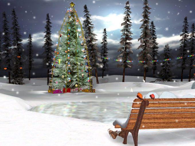 3D Christmas Eve Screensaver