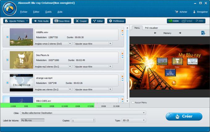 Aiseesoft Blu-ray Créateur