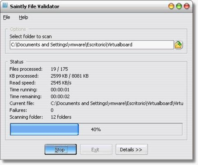 Saintly File Validator