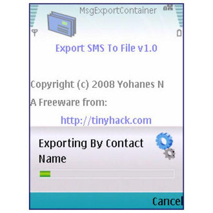MsgExport