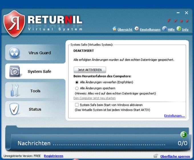 Returnil Virtual System 2011