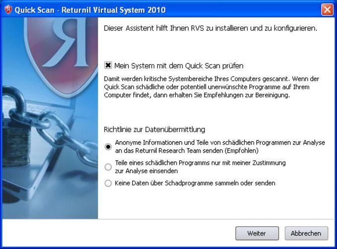 Returnil Virtual System 2011
