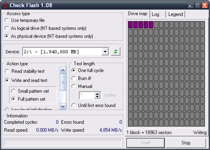 Check Flash