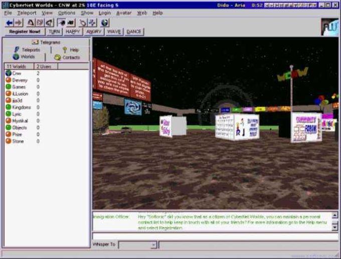 CyberNet Worlds