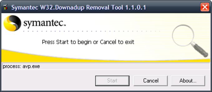 Symantec W32.Downadup Removal Tool