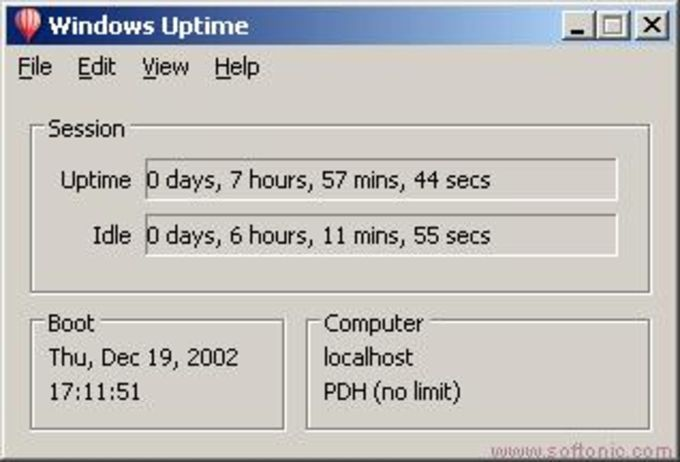 Windows Uptime