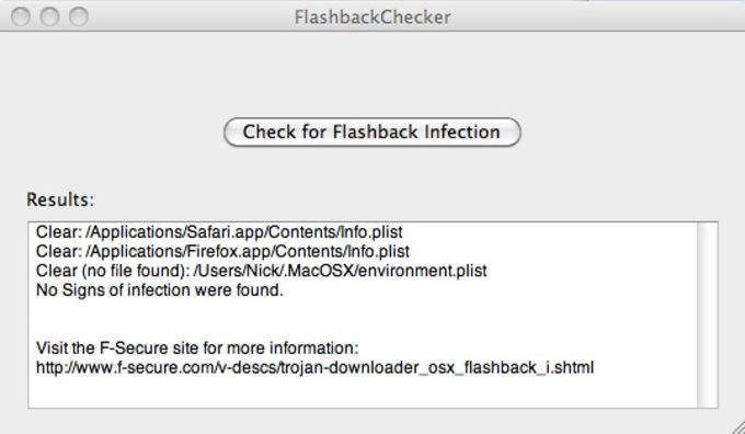 Flashback Checker