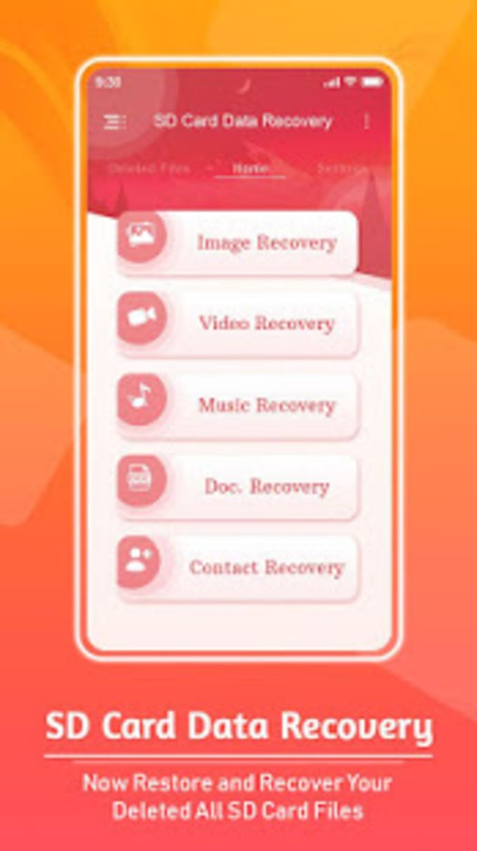 SD Card Data Recovery Photo Video