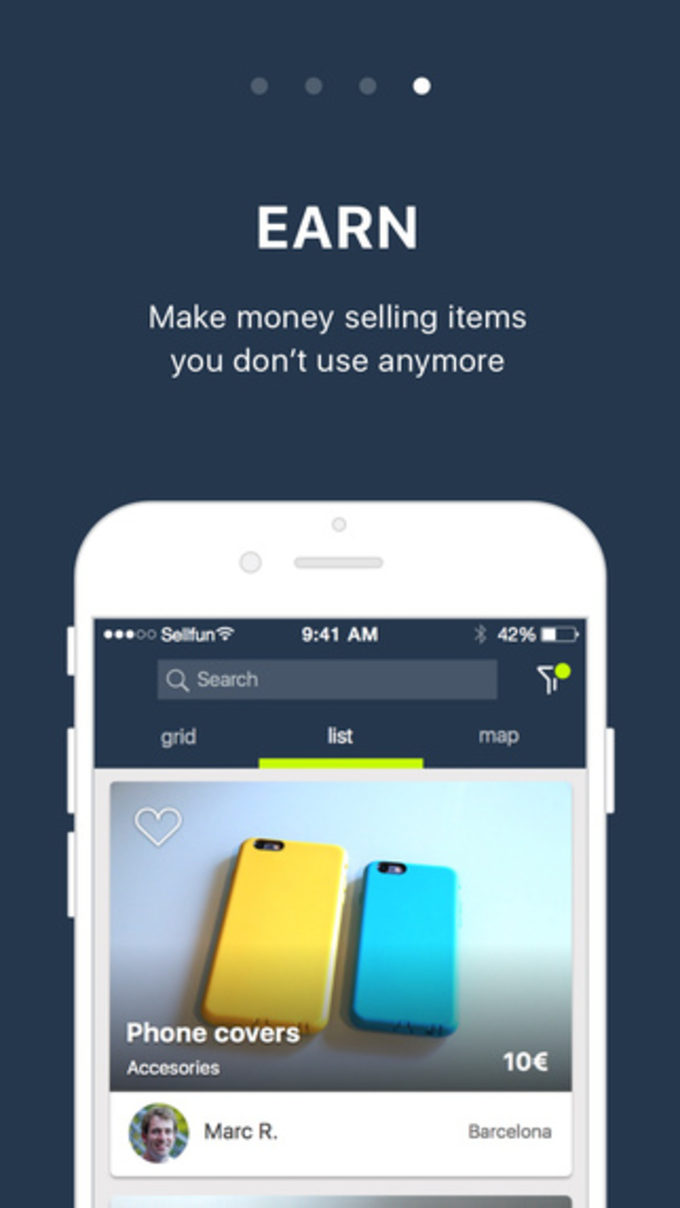 Sellfun, the smartphones and tablets marketplace
