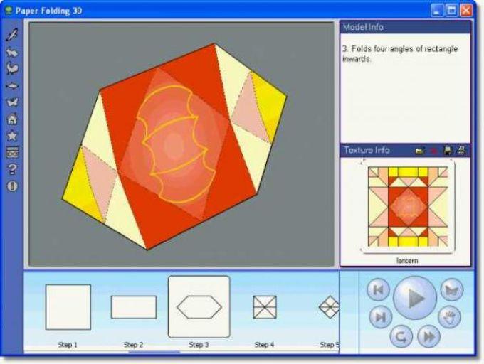 Paper Folding 3D