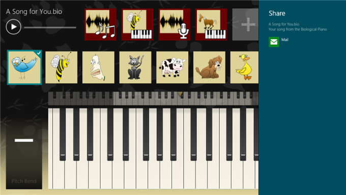 Biological Piano