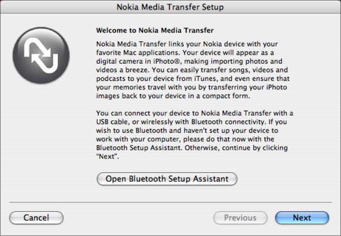 Nokia Media Transfer