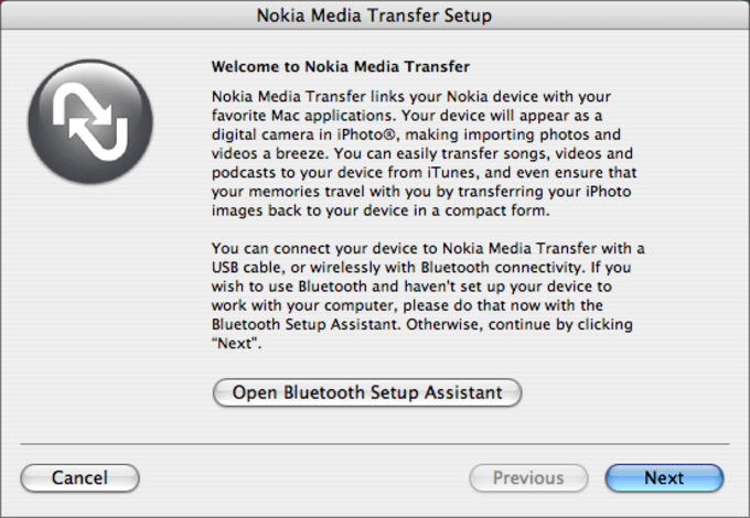 Nokia Multimedia Transfer