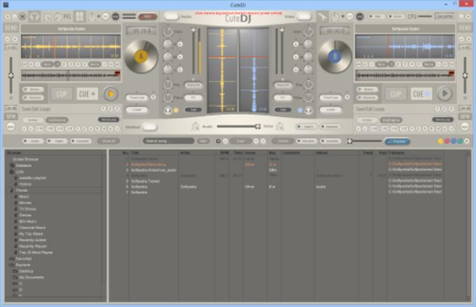 CuteDJ - DJソフト