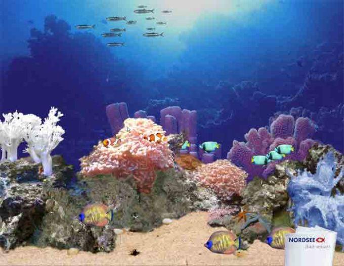 Virtuelles Aquarium